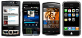 Développement applications pour mobiles : Iphone, Androide, Blackberry, Nokia 95